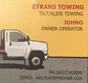 TILT TRAY TOWING - ETRANS TOWING Browns Plains Logan Area Preview