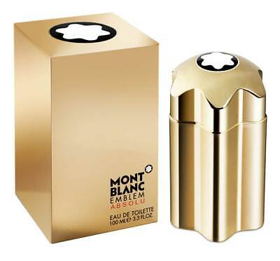 Mont Blanc Emblem Absolu 3.4 oz - Brand New, Opened Box