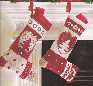 Stocking Patterns - Quilt a Christmas Stocking