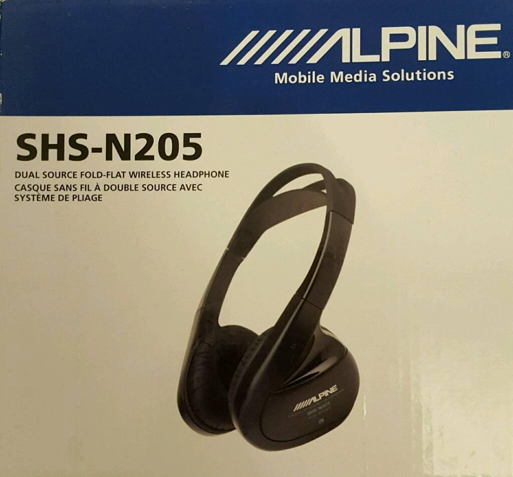 2X Alpine wireless headphones
