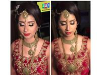 Asian bridal specialist.. Experienced Hair and makeup artist. Prom/parties/Weddings