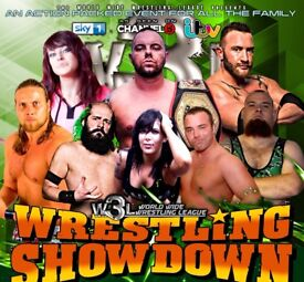 American Wrestling Tickets - W3L Wrestling Showdown