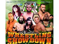 American Wrestling Tickets - W3L Wrestling Showdown