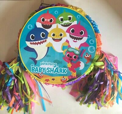 Baby Shark  Pinata..Party Game ,Party Decoration FREE SHIPPING