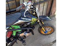 140cc pit bike/pitbike
