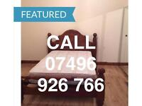 VERY LARGE CLEAN KING SIZE DOUBLE ROOM & VERY LARGE SINGLE ROOM LONDON