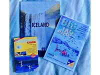 BRAND NEW Iceland Reykjavik Travel Guide Books and Maps