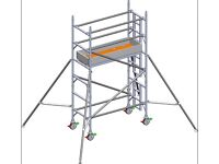 ALUMINIUM SCAFFOLD TOWER 4.2MM WORKING HEIGHT (3.2M TOWER HEIGHT)