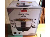 Steamer - Prestige A La Carte Cook and Steam Steamer Cooks and steams! Item is no longer in the box