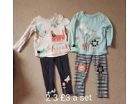 Girls clothing bundle 2-3 years