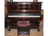 Piano (John Broadwood & Sons) - needs some TLC. Free to anyone who can collect.