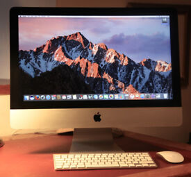 imac 21.5 inch screen one year old £500