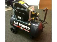 SEALEY 50 L Air Compressors & Accessory Kit