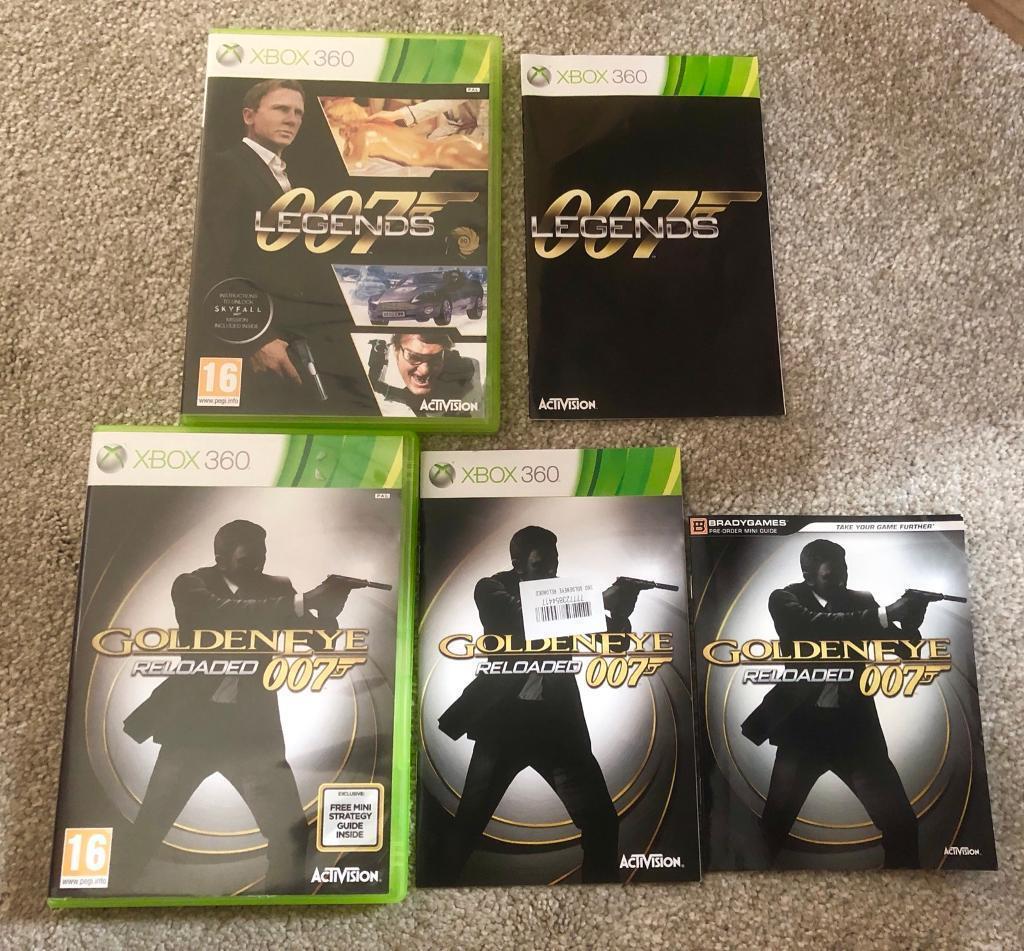James Bond Xbox 360 games bundle