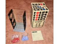 Vintage Fours 3-D Noughts & Crosses Game