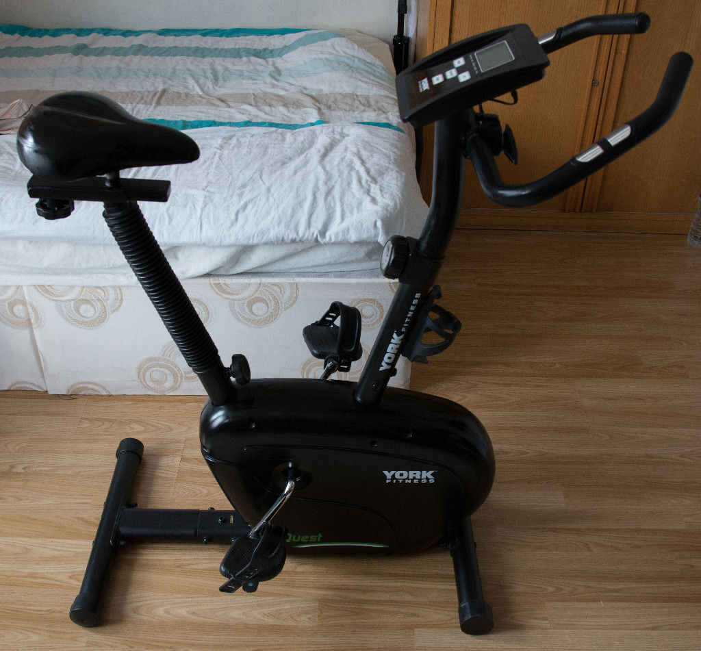 York Fitness Quest Exercise Bike 8 Tension