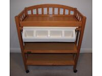 Mamas & Papas Solid Wood Changing Table with hidden Bath