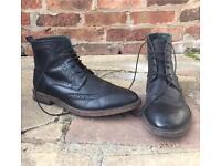 Kurt Geiger Mens leather boots - size 11