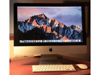 21.5 inch iMac. One year old. onlu used as back up £500