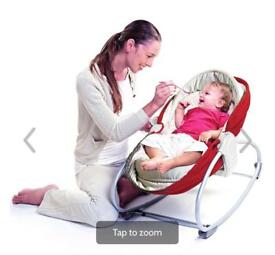 Tiny Love 3 in 1 Rocker Napper, cot, bouncer must have for babies 👶