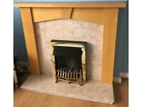 Electric fire and fire surround
