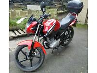Yamaha YBR 125cc 2014 15800 miles MOT until November