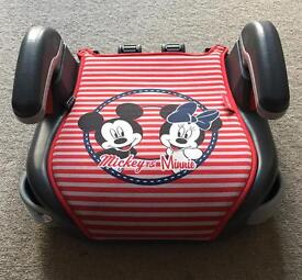 Graco booster seat - Mickey & Minnie