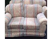 Regency style 3 and 2 seater sofas free delivery
