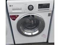 LG 8KG WASHER DRYER DISPLAY MODEL FREE DELIVERY AND WARRANTY