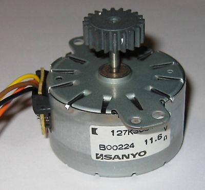Sanyo Stepper Motor - 12 V - 7.5 Degstep - W Gear