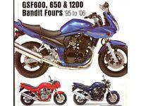 Suzuki Bandit 1200 or 600 WANTED Project, Non Runner, Parts Bike etc
