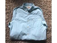 Mens Hollister shirt green medium