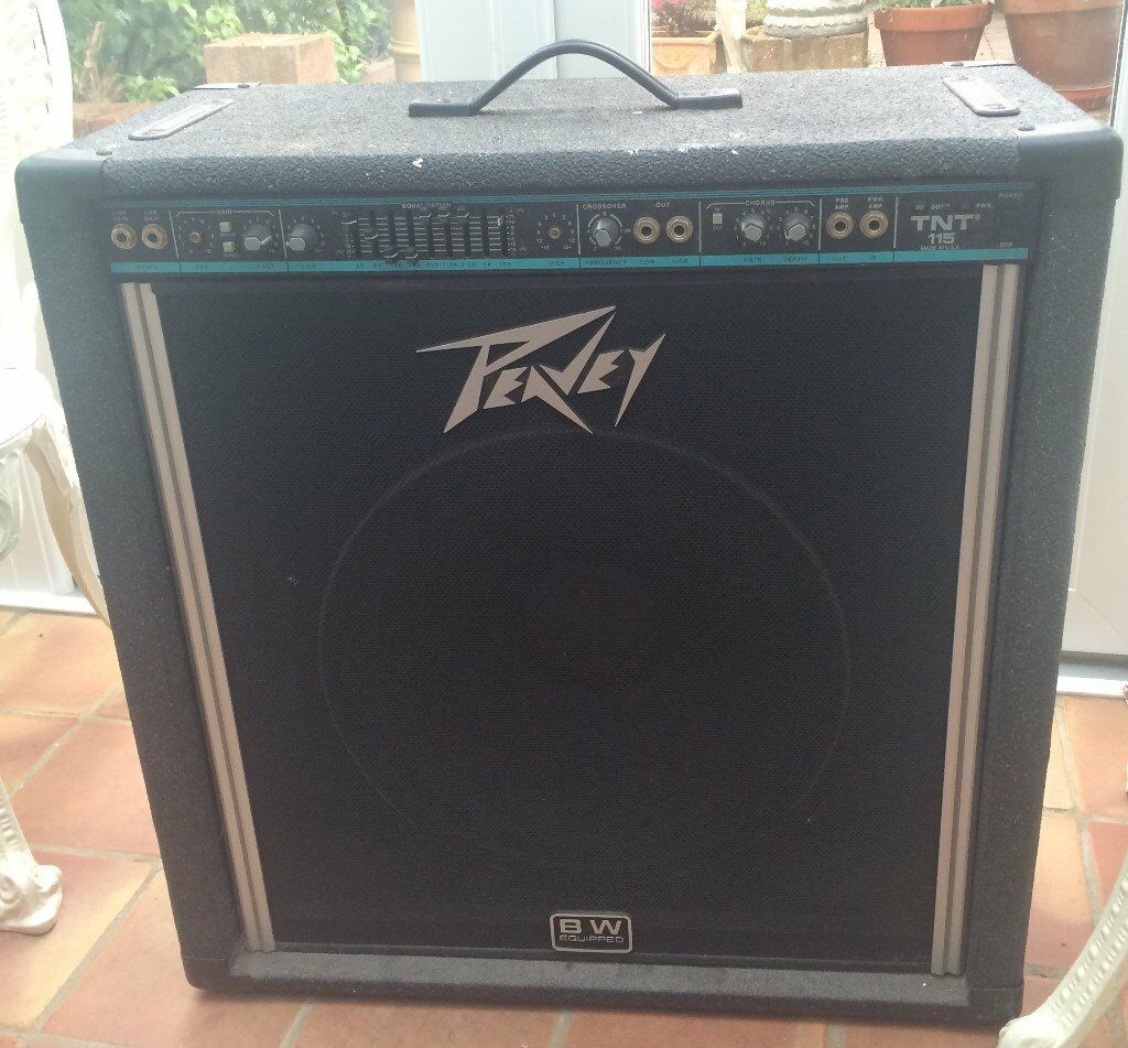 peavey tnt 115 bass amp combo vintage in portsmouth hampshire gumtree. Black Bedroom Furniture Sets. Home Design Ideas
