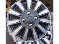 "Halfords Turin 14"" wheel trims"