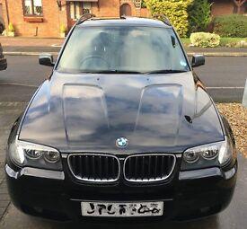 BMW X3 M-Sport Black