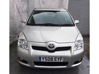 2008Toyota Corolla Verso 2.2 D-4D SR Diesel 5dr 7SEATER, 71500LOW MILES/SERVICE HISTORY/MOT 25/10/18