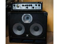 Ashdown Mag 300 EVO ii Bass amp and Harley Benton Cab