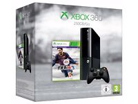 XBOX 360 E Console - 250GB FULLY BOXED with controller & all cables. £60