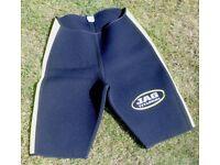 New wet suit shorts, XL, JAG Titanium brand