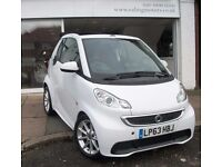 2014 SMART FORTWO CONVERTIBLE, AUTOMATIC,PETROL,POWER STEERING,SAT NAV,BLUETOOTH,FULL HISTORY,AIRCON