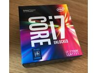 Brand new & Sealed Intel Core i7-7700K 4.2 GHz QuadCore 8MB Cache Processor (Kaby Lake)