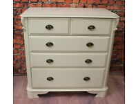 Ornate Shabby Chic French Style Chest of Bedroom Drawers