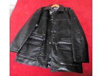 Italian Fashion leather Jacket XL