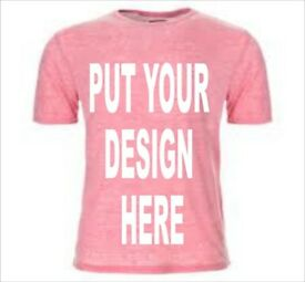 PERSONALIZE YOUR OWN T-SHIRTS TODAY