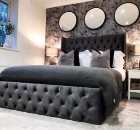 Brand NEW 5ft Bed with Gas Lift Ottoman