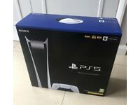 Playstation 5 Console Digital Edition Brand New Sealed mint