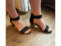 Casual black heels size 6/39 - H&M