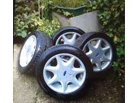 SET OF FOUR ALLOY WHEELS FOR SALE