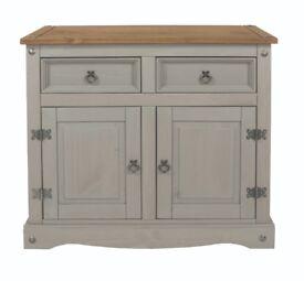 Grey 2 door 2 drawer sideboard
