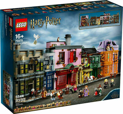 Leog Harry Potter DIAGON ALLEY Set 75978 New, Factory Sealed Ready to Ship!